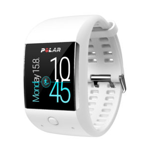 Polar M600_frontleft_raceband_white_time+activ