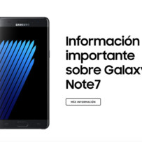 Samsung México invita a reemplazo voluntario del Galaxy Note 7