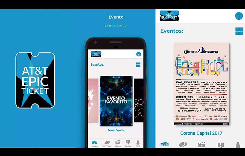 AT&T Epic ticket