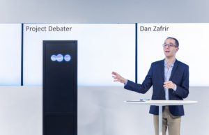 IBM Project Debater debate con humanos usando inteligencia artificial