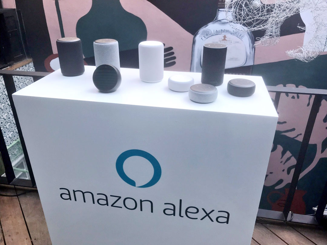 Amazon Alexa en dispositivos Echo