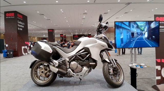Oracle IoT Motorcycle