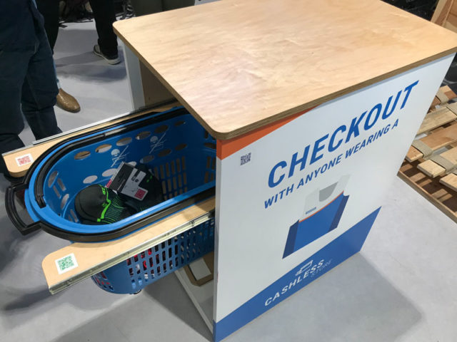 RFID Trolley de Decathlon