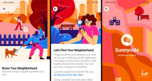 Facebook Neighborhoods